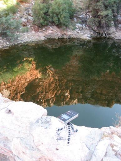 Capturing the sounds of Bottomless Lakes State Park, NM