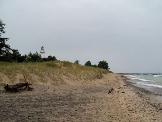 Whitefish Point, MI and the Great Lakes Shipwreck Museum