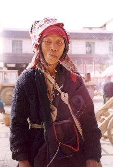A Dai woman in Menghun