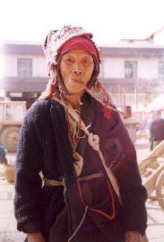 A Dai woman in Menghun