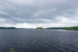 A perfect island campsite