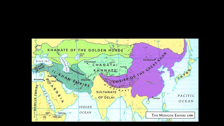 Week 5: u and the Chinese Pen | Michael J. Bechtel Il Kahn Khanate Location World Map on